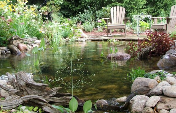 ponds streams and waterfalls