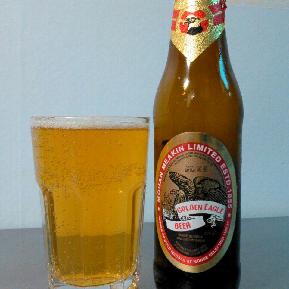 Golden Eagle Beer (5%) - Quiet Pints