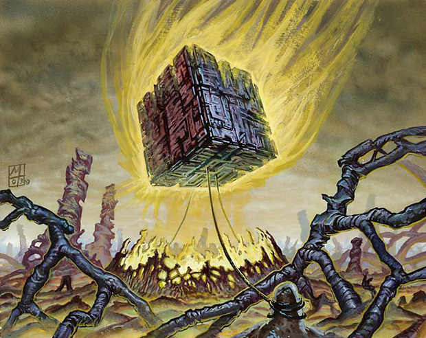 Image result for doubling cube art