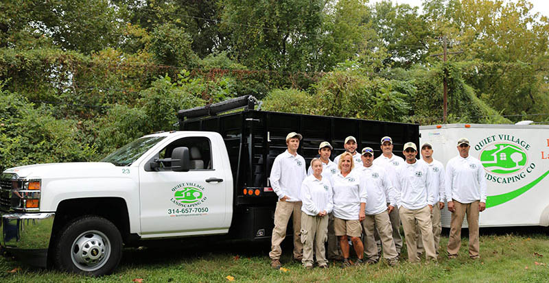 About Quiet Village Landscaping  Landscaping Services St