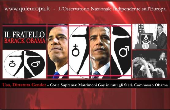 Dittatura Gender - Corte suprema - Obama