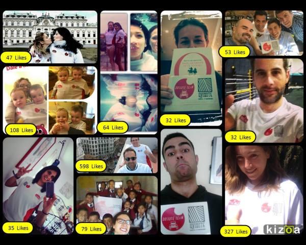 Concurso de Selfies del Quijote Team