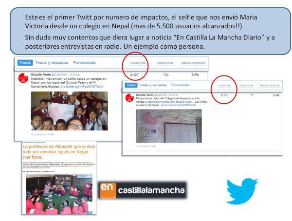 Concurso selfies del Quijote Team