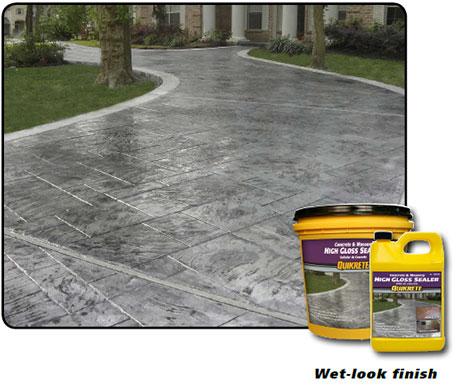 concrete masonry gloss sealer
