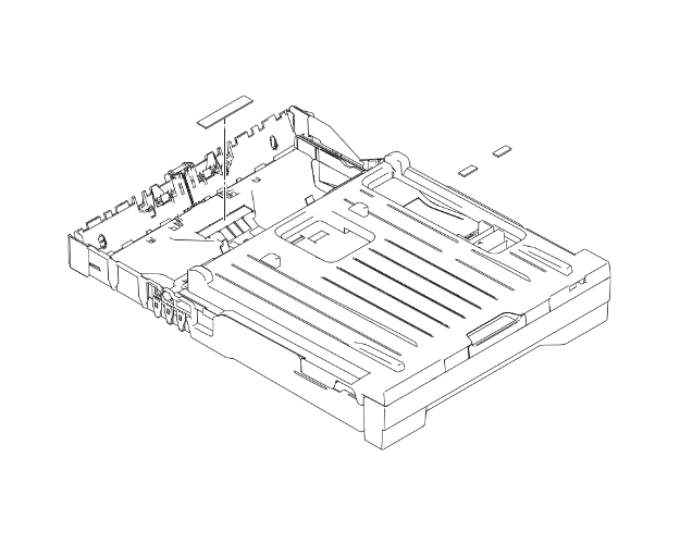 Brother MFC-J870DW Paper Tray Assembly 1 (OEM) SP