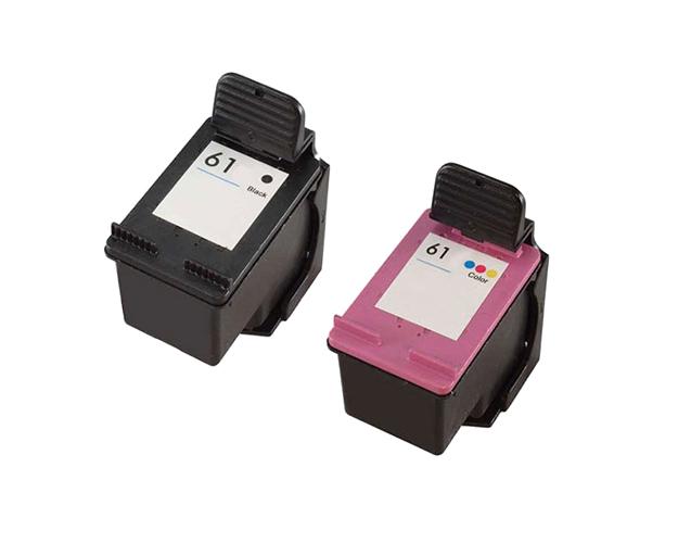 HP DeskJet 2540 Black Ink Cartridge - 190 Pages - QuikShip Toner