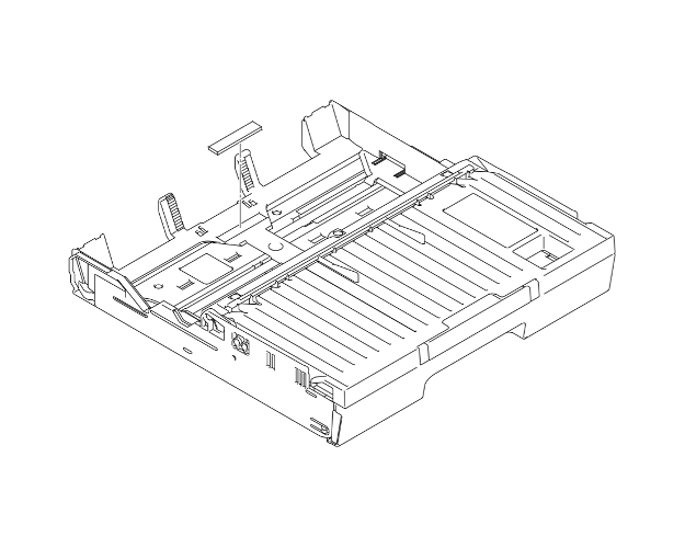 Brother LEL551001 Paper Tray Assembly 1 (OEM) SP