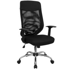 Office Chair High Seat Revolving Manufacturer In Nagpur Flash Furniture Back Mesh With Fabric Black Quill Com