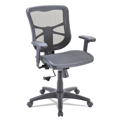 mesh task chair lounge outdoor chairs alera elusion mid back with seat black quill com