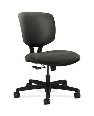 upholstered computer chair flight recliner hon hon5721hai10t volt fabric office armless onyx quill com