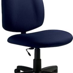 Task Chair Without Arms Banded Swivel Blind Global Medium Back Navy Quill Com