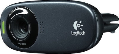 Logitech C310 HD 720p Computer Webcam with Microphone (960-000585) | Quill.com