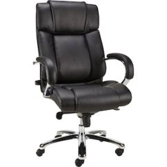 Staples Computer Chairs Swing Chair Spring Sonada Bonded Leather And Desk Black 28358 Quill Com