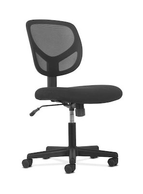 mesh task chair and footstool hon sadie fabric armless black bsxvst101 next2019 quill com
