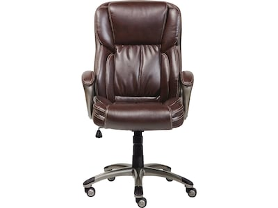 serta bonded leather executive chair child table and chairs biscuit brown chr200090 this web site is intended only for use by u s residents