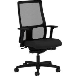 Hon Ignition 2 0 Chair Review Heavy Duty Zero Gravity Mesh Back Fabric Task Black Hiwm3 A H M Cu10 T Sb Quill Com