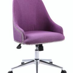 Purple Task Chair Vintage School Desk And Boss Carnegie Quill Com
