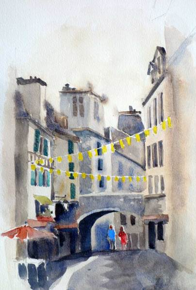 Old Town, Pau, France, Sold
