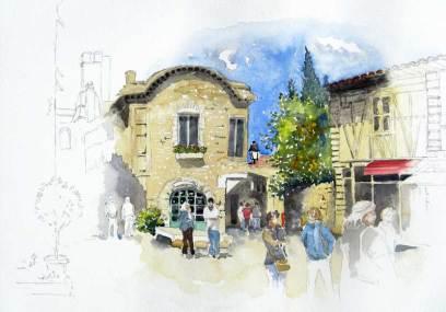 Carcassonne, France, Sold