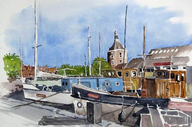 Harbour, Enkhuizen, Netherlands, Sold