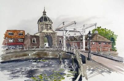 Lift Bridge, Leiden, Netherlands, Sold