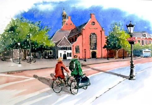 Cycling, Utrecht, Sold