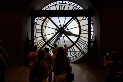 In the Musee d'Orsay