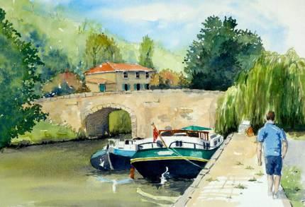 Canal de Midi, France, SOLD