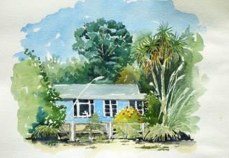 Cottage, Waikuku Beach