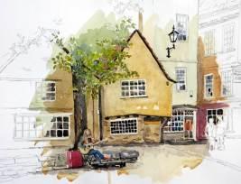 Busker, York, Sold