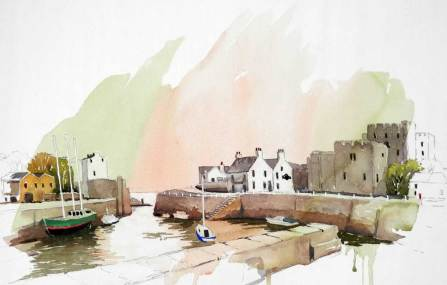 Harbour, Castletown, Isle of Man, Sold