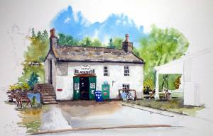 The Laxey blacksmith Shop,