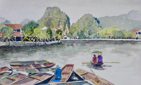 Tam Coc, Vietnam, Sold