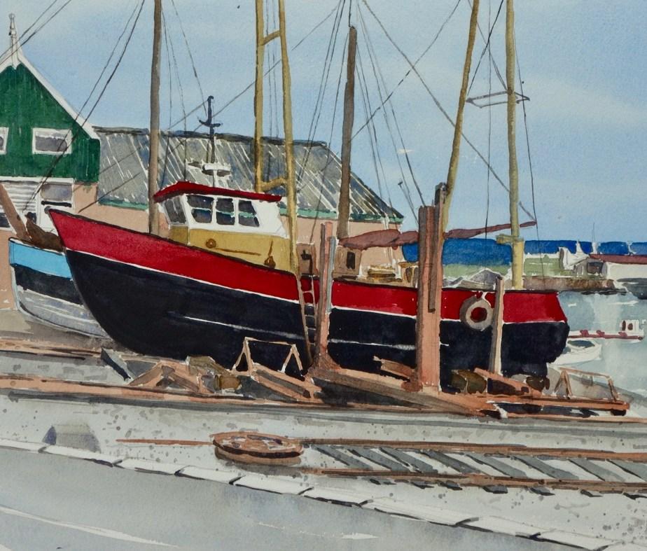 Urk, Netherlands, Sold