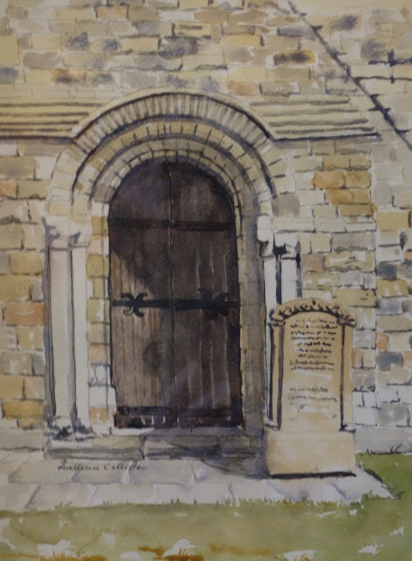 Door, St Marys Church, Whitby, England, SOLD