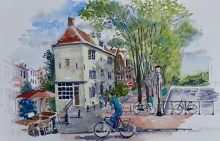 Café, Spiegelgracht, Amsterdam, SOLD