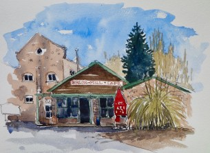 Brick Mill Cafe, Waikuku, SOLD