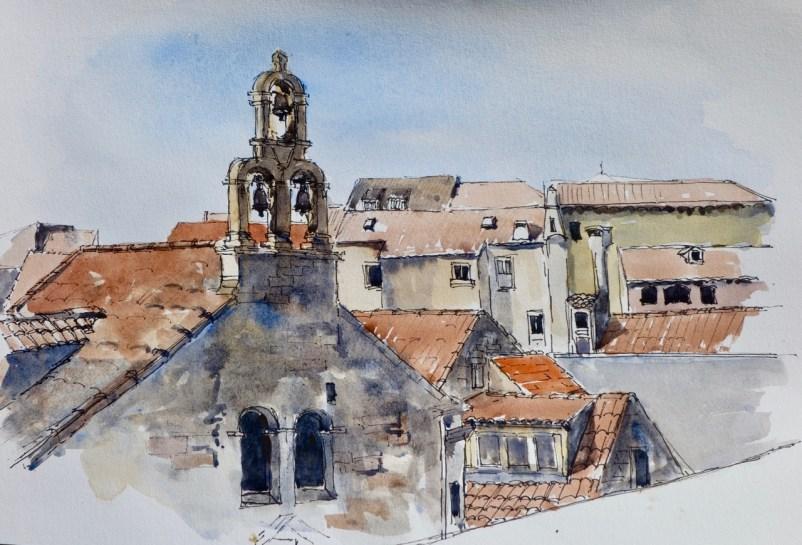Rooftops, Dubrovnik, Croatia, SOLD