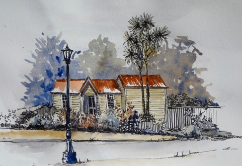 The Sexton's House, Wellington, $255, (framed)