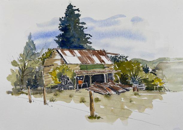 Old House, Rockville, Golden Bay $245