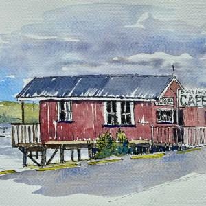 Boatshed Cafe in Rawene