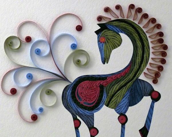 Folk Art - Quilling Sandra White