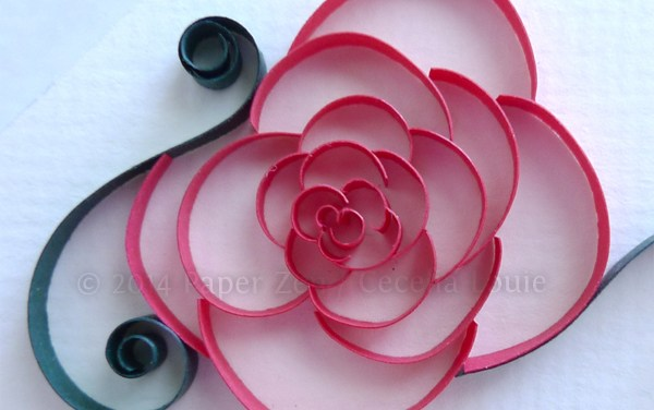 Cut Coil Flowers Tutorial