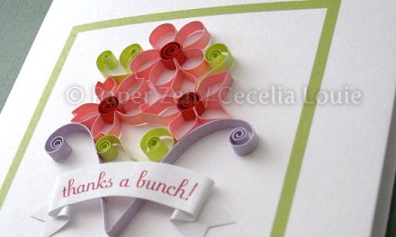 Open Petaled Quilled Flowers Tutorial