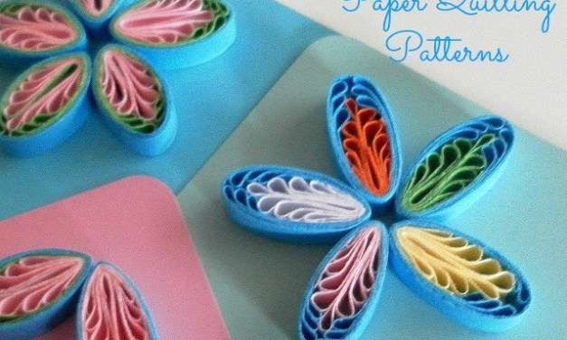 Tutorial for Quilling Comb Flowers