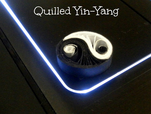 tutorial for a paper quilled yin yang