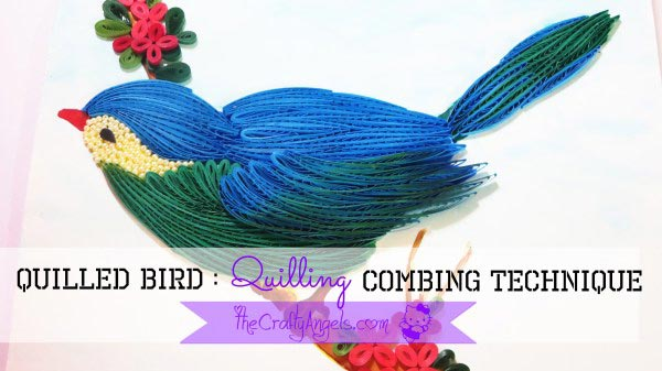 Use a Quilling Comb to Make a Quilled Bird