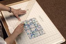 First Half-Square Triangle Cut