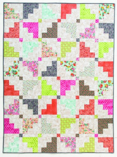 Flying Shapes Quilt Pattern