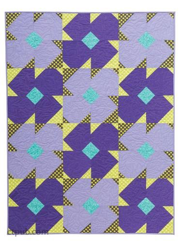 Modern Pinwheel Quilt Pattern